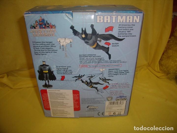 Figuras de acción: Batman volador de Fusion Toys USA, año 2002, Nuevo sin abrir. - Foto 9 - 118931539
