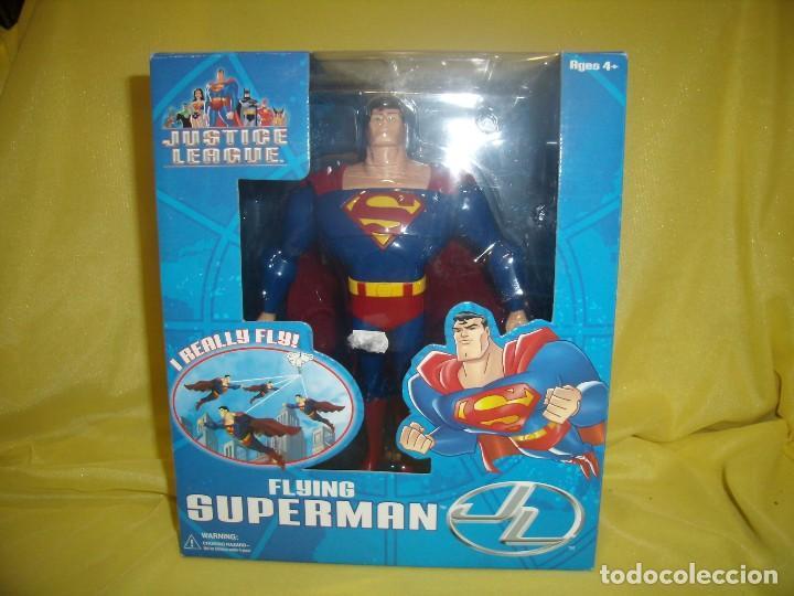SUPERMAN VOLADOR DE FUSION TOYS, USA, AÑOS 2002, NUEVO SIN ABRIR (Juguetes - Figuras de Acción - Otras Figuras de Acción)