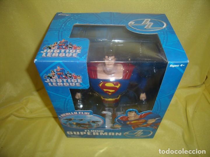 Figuras de acción: Superman volador de Fusion Toys, USA, años 2002, Nuevo sin abrir - Foto 2 - 118932495