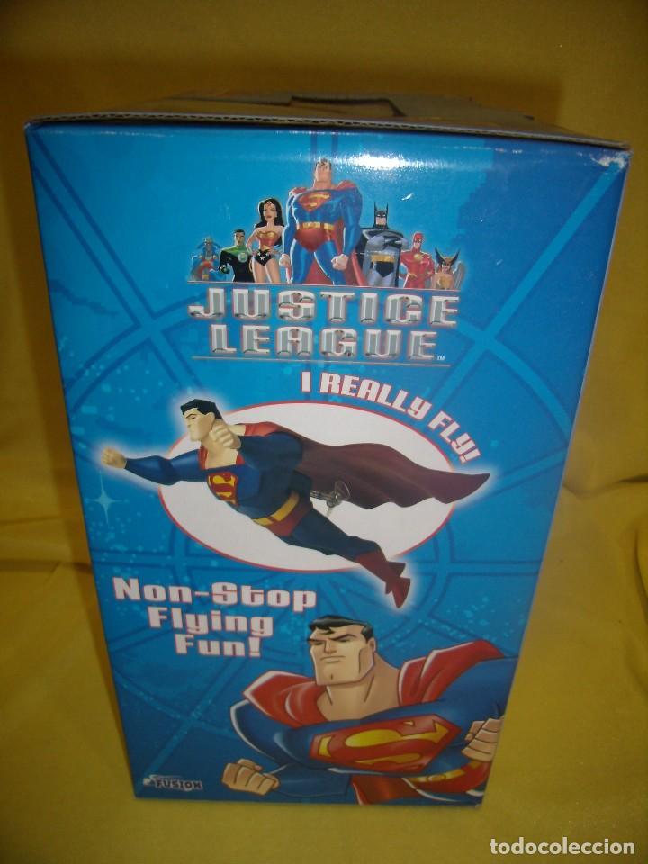 Figuras de acción: Superman volador de Fusion Toys, USA, años 2002, Nuevo sin abrir - Foto 3 - 118932495