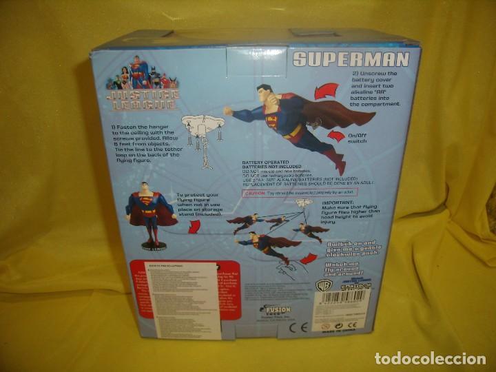 Figuras de acción: Superman volador de Fusion Toys, USA, años 2002, Nuevo sin abrir - Foto 4 - 118932495