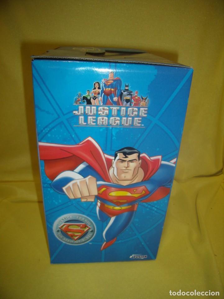 Figuras de acción: Superman volador de Fusion Toys, USA, años 2002, Nuevo sin abrir - Foto 5 - 118932495