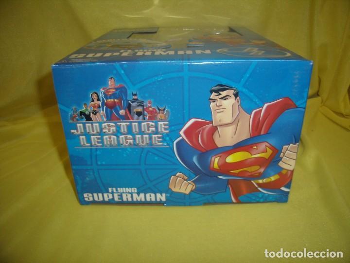 Figuras de acción: Superman volador de Fusion Toys, USA, años 2002, Nuevo sin abrir - Foto 6 - 118932495