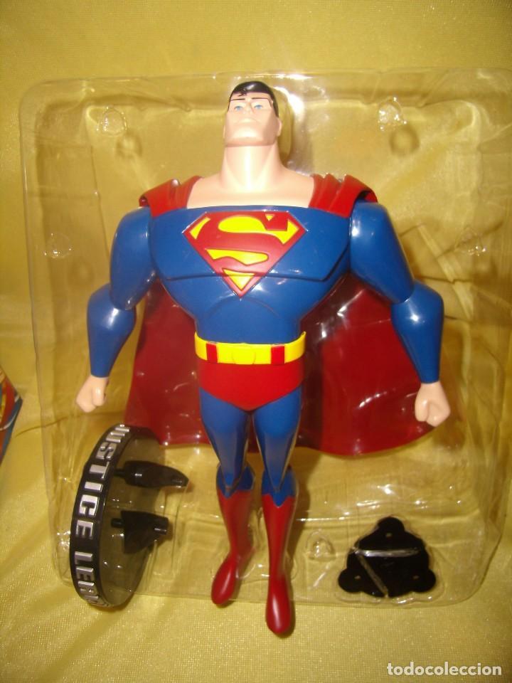 Figuras de acción: Superman volador de Fusion Toys, USA, años 2002, Nuevo sin abrir - Foto 8 - 118932495