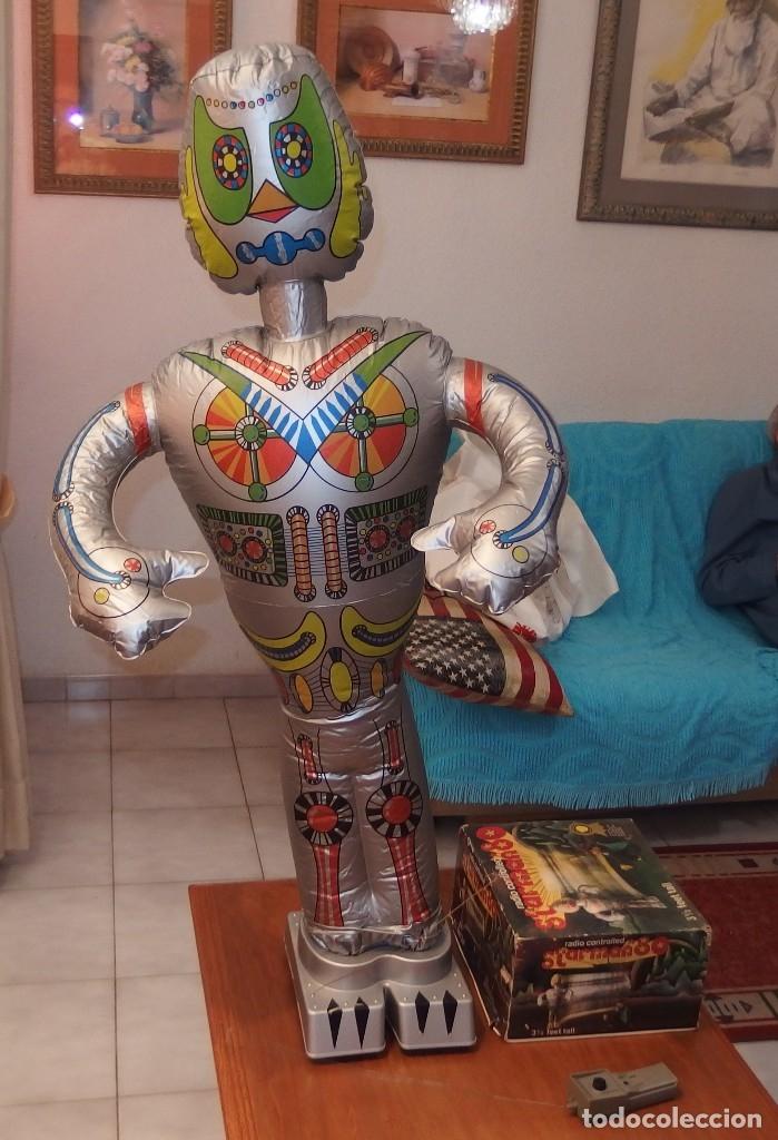 Figuras de acción: ROBOT STARMAN 80,CAJA ORIGINAL,CONTROL REMOTO,AÑO 1978,FUNCIONANDO - Foto 3 - 119272387