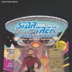 Figuras de acción: BLISTER STAR TREK - WILLIAM T. RIKER - THE NEXT GENERATION , AÑO 1992 - ERICTOYS. Lote 120037035