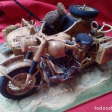 Figuras de acción: MOTO CON SIDECAR BMW ITALIANA. Lote 120544727