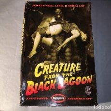 Figuras de acción: CREATURE FROM BLACK LAGOON DE MOEBIUS ESCALA 1/8. Lote 120787579