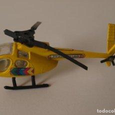 Figuras de acción: HELICOPTERO DE METAL Y PLASTICO. STRAWBERRY LAND. 9 CM LARGO. VER FOTOS Y DESCRIPCION. Lote 120835663