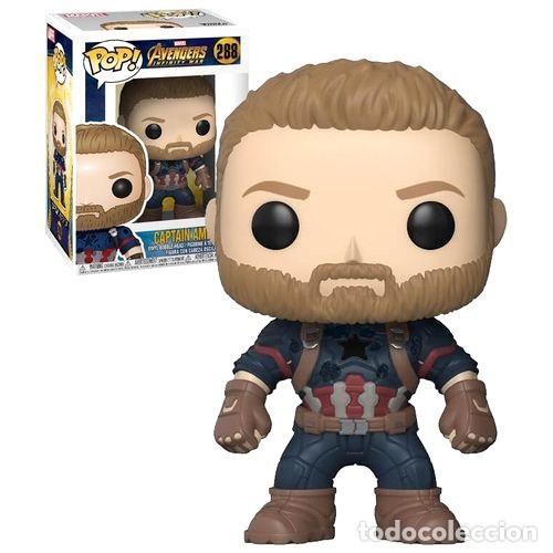 funko pop 288 capitan america marvel avengers i - kaufen andere