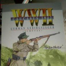 Figuras de acción: WWII CAUCASUS 1942. GERMAN GEBIRGSJAGER (SCHUTZE) GUNTHER.. Lote 121452458