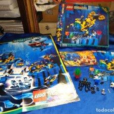 Figuras de acción: LEGO AQUANAUTS,REF.6175,CAJA CON 2 BUCEADORES CATALOGO Y POSTER. Lote 121662103