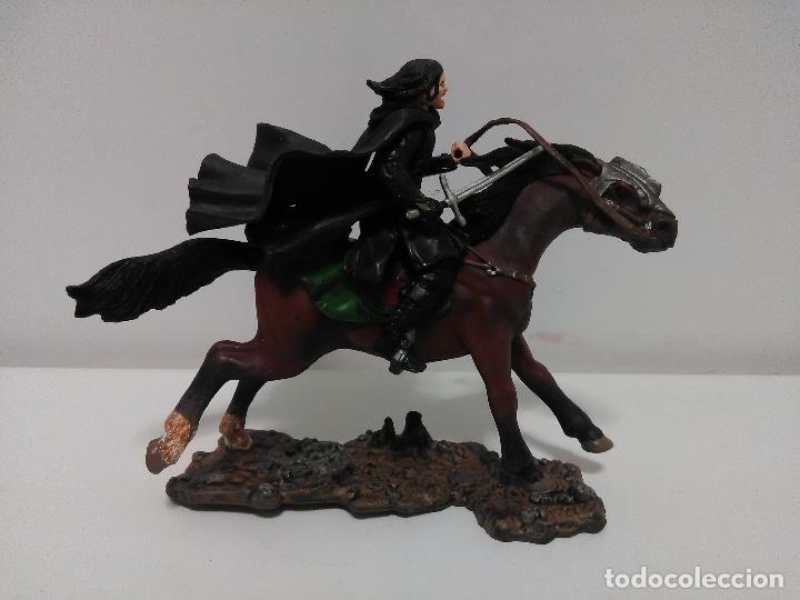 Figuras de acción: Figura Aragón, El Señor de los Anillos, play Along 2003, 12 cm x 9 cm - Foto 4 - 123169507
