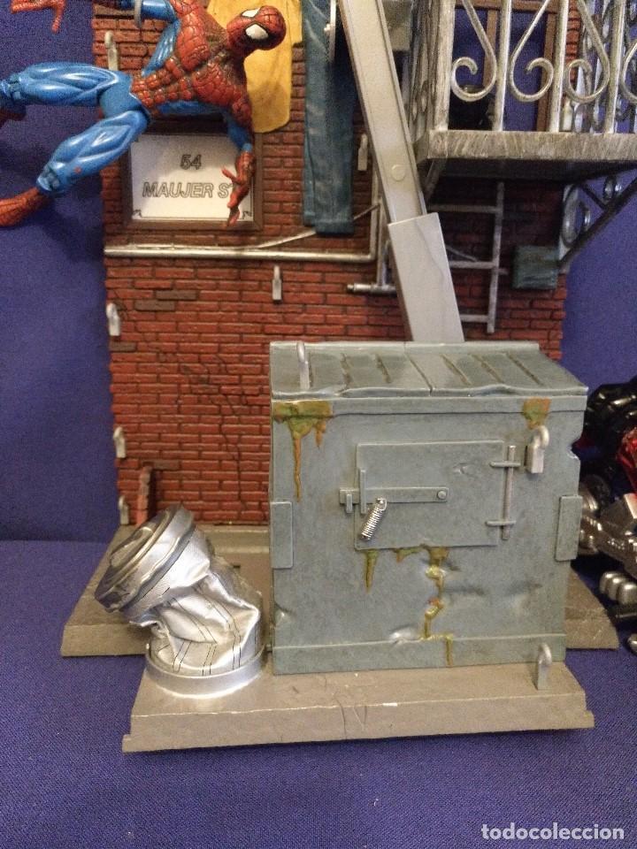 Figuras de acción: Diorama Marvel de muñeco Spiderman,REGALO moto de los 80-90 - Foto 4 - 123495931