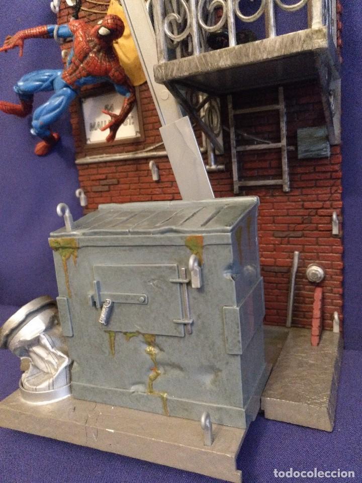Figuras de acción: Diorama Marvel de muñeco Spiderman,REGALO moto de los 80-90 - Foto 8 - 123495931