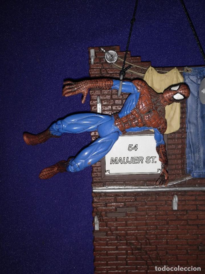 Figuras de acción: Diorama Marvel de muñeco Spiderman,REGALO moto de los 80-90 - Foto 10 - 123495931