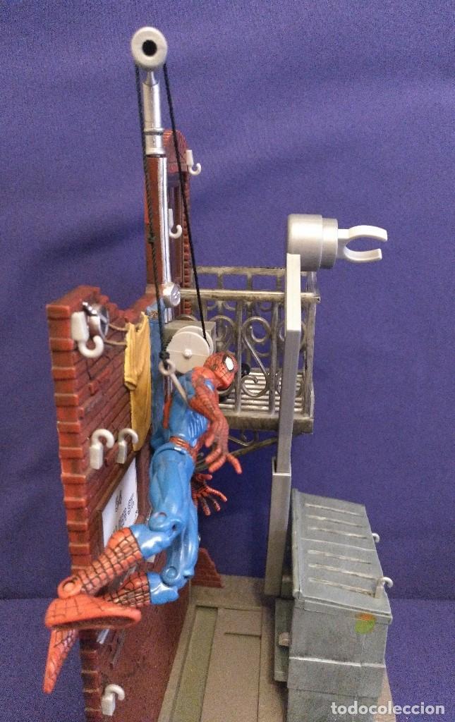 Figuras de acción: Diorama Marvel de muñeco Spiderman,REGALO moto de los 80-90 - Foto 14 - 123495931