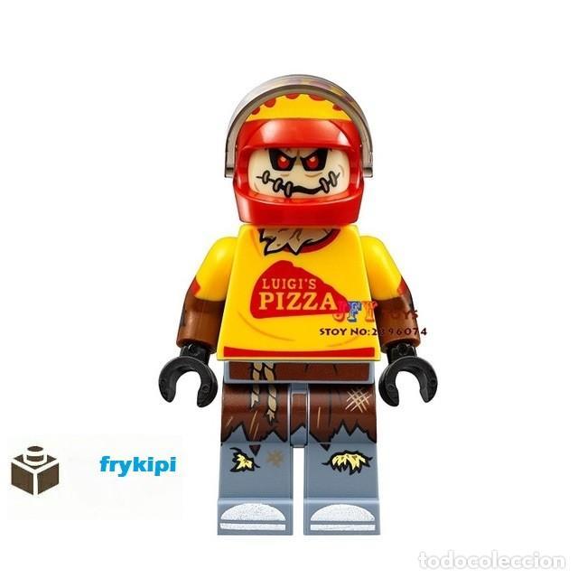 Pizza zombi series peliculas bloques lego compatible terror colección segunda mano