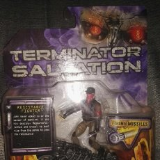 Figuras de acción: JOHN CONNOR TERMINATOR SALVATION CON MOTO. Lote 126488271