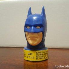 Figuras de acción: CANDY HEAD BATMAN - ORIGINAL DE 1989 TOPPS CANDY DC COMICS 6.5 CM. DE ALTURA. Lote 126674311
