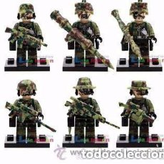 Figuras de acción: 6 FIGURAS DE SOLDADOS (NUEVO) LOTE 4. Lote 130969104