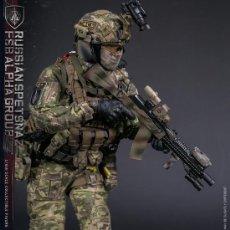 Figuras de acción: FIGURA SPETSNAZ RUSIA FSB ALPHA GROUP -VERSION CLÁSICA 1/6. Lote 131191636