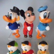 Figuras de acción: VINTAGE WALT DISNEY CORP MICKEY MOUSE PATO DONALD Y AMIGOS PITIPINZAS. Lote 131859198