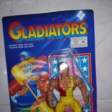 Figuras de acción: GLADIATORS FIGURA DE ACCION AÑOS 90 GLADIATOR TIPO MOTU. Lote 233013660