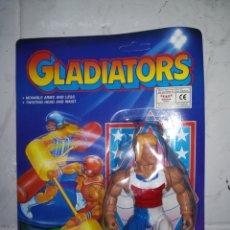Figuras de acción: GLADIATORS FIGURA DE ACCION AÑOS 90 TIPO MOTU GLADIATOR. Lote 233013730