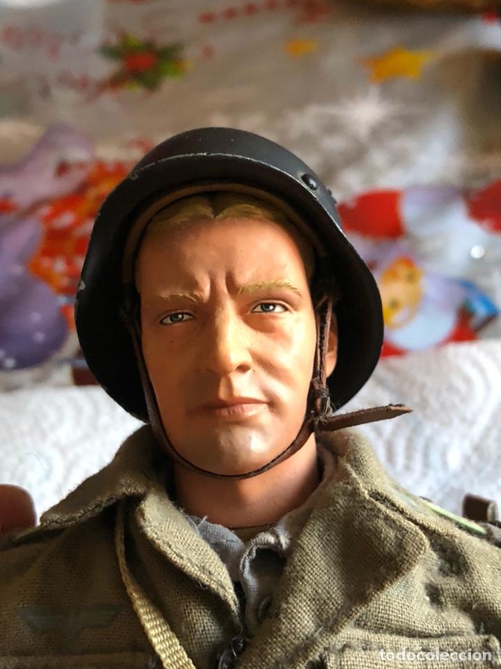 Figuras de acción: Antiguo muñeco militar articulado, gran calidad - Foto 2 - 132476501