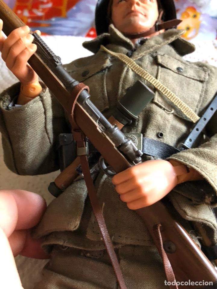 Figuras de acción: Antiguo muñeco militar articulado, gran calidad - Foto 5 - 132476501