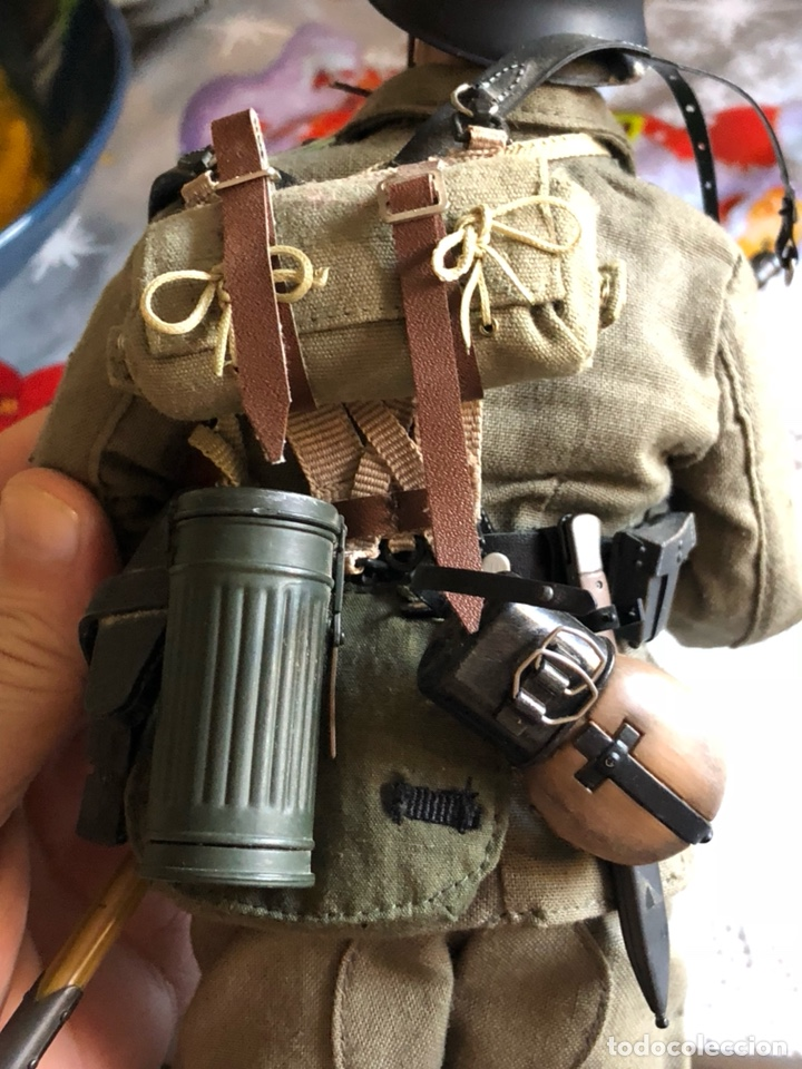 Figuras de acción: Antiguo muñeco militar articulado, gran calidad - Foto 7 - 132476501
