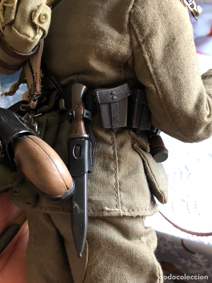 Figuras de acción: Antiguo muñeco militar articulado, gran calidad - Foto 8 - 132476501
