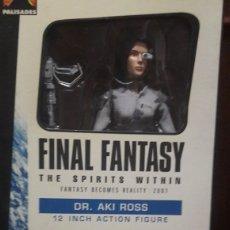 Figuras de acción: FIGURA DR. AKI ROSS FINAL FANTASY 12 INCH PALISADES 2001. Lote 132760481