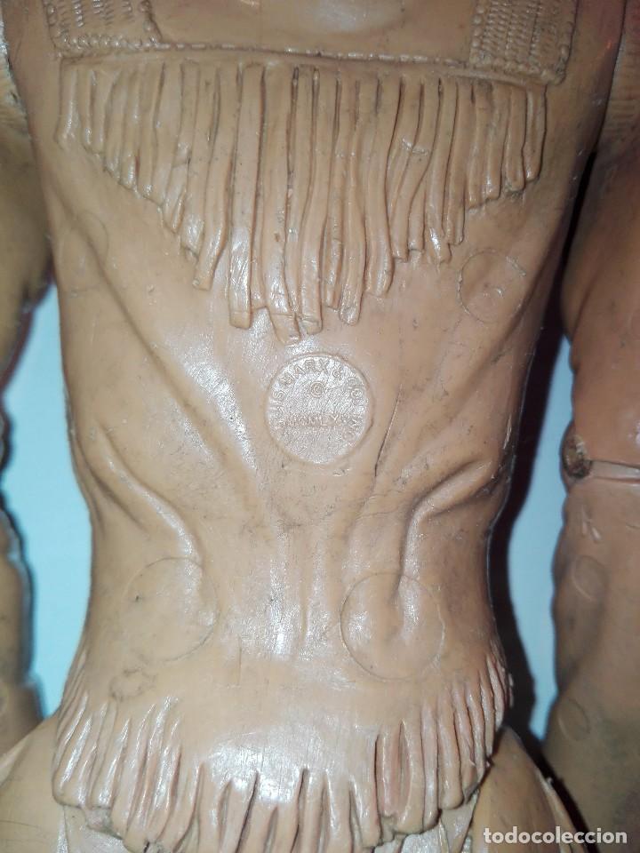 Figuras de acción: Lote de antiguos muñecos y accesorios Louis marx años 60. 70 - Foto 9 - 133588078
