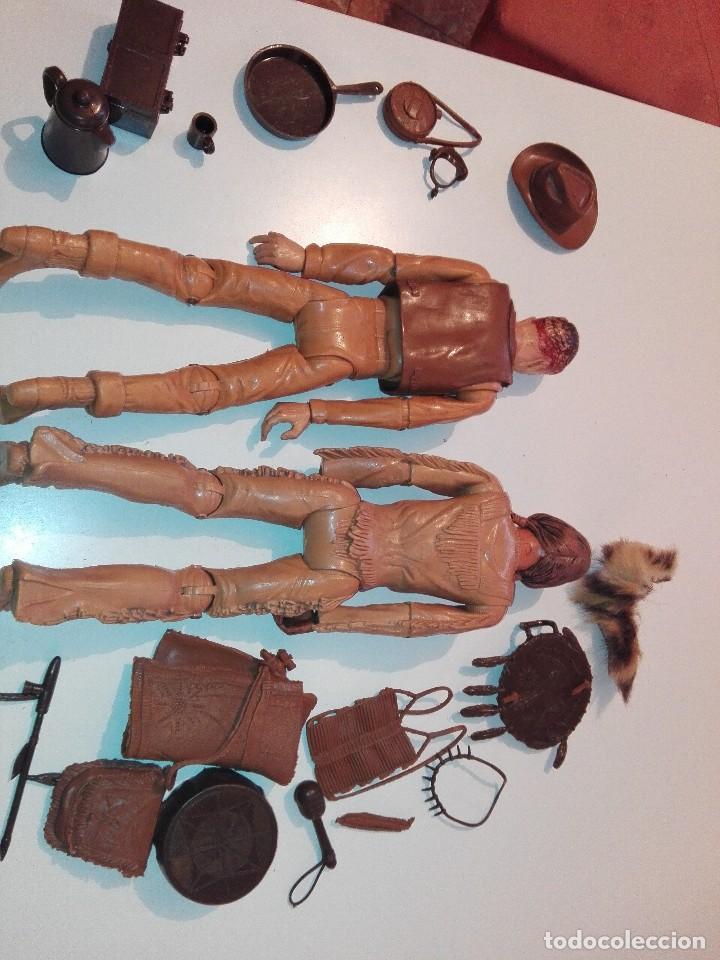 Figuras de acción: Lote de antiguos muñecos y accesorios Louis marx años 60. 70 - Foto 11 - 133588078
