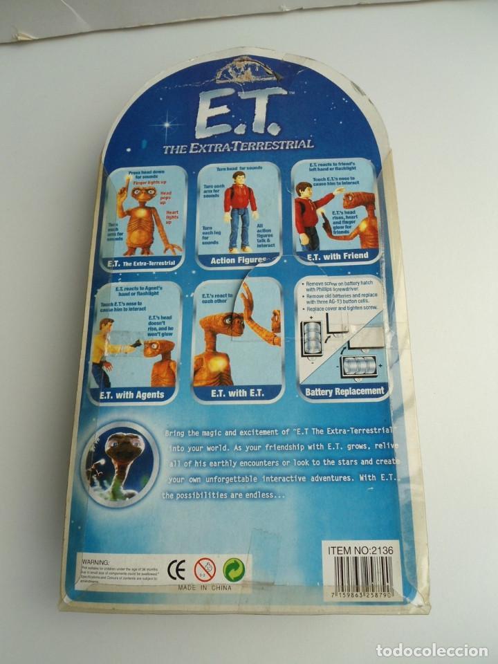 Figuras de acción: ELLIOT - E.T. THE EXTRA-TERRESTRIAL - ET EL EXTRATERRESTRE - AÑOS 80 - FIGURA EN BLISTER - RARA - Foto 8 - 133839706