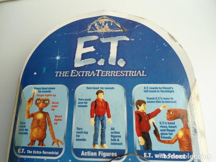 Figuras de acción: ELLIOT - E.T. THE EXTRA-TERRESTRIAL - ET EL EXTRATERRESTRE - AÑOS 80 - FIGURA EN BLISTER - RARA - Foto 9 - 133839706