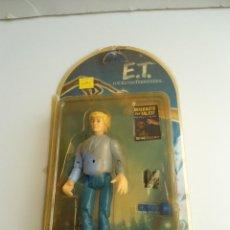 Figuras de acción: MICHAEL - E.T. THE EXTRA-TERRESTRIAL - ET EL EXTRATERRESTRE - AÑOS 80 - FIGURA EN BLISTER - RARA. Lote 133839978