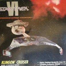 Figuras de acción: AMT STAR TREK VI KLINGON CRUISER 1991. Lote 134056266