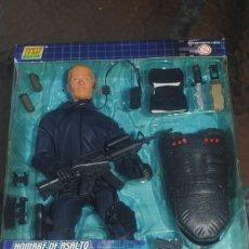 Figuras de acción: FIGURA POWER TEAM SWAT POLICIA A ESCALA 1/6. HOMBRE DE ASALTO. Lote 134370046