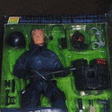 Figuras de acción: FIGURA POWER TEAM COMANDO SWAT POLICIA A ESCALA 1/6. PICK-UP MAN. Lote 134371630
