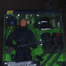 Figuras de acción: FIGURA POWER TEAM COMANDO SWAT POLICIA A ESCALA 1/6. BREACHER. Lote 134371854