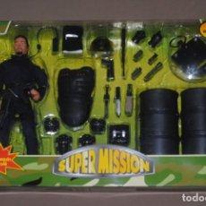 Figuras de acción: SÚPER MISION POWER TEAM SWAT POLICIA A ESCALA 1/6. Lote 134381854