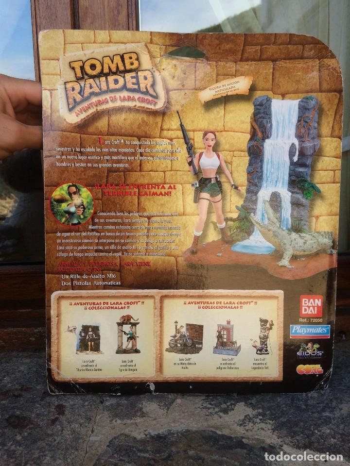 Figuras de acción: MASTERS LOTE ENORME BLISTER PRECINTADO TOMB RAIDER LARA KROFT VS CAIMAN BANDAI PLAYMATES RARO - Foto 5 - 134876270