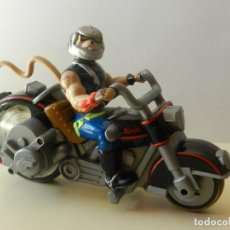 Figuras de acción: MOTORATONES DE MARTE BUJIAS MOTO LUMINOSA BIKER MICE FROM MARS GALOOB 1993 MOTORATON MOTO RATONES. Lote 135113898