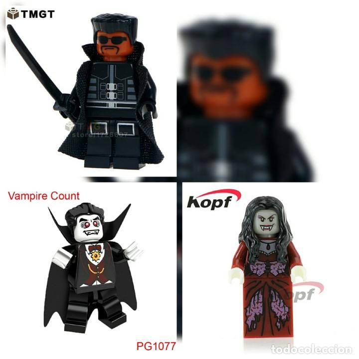 lote de 4 bloques lego compatible terror vampiros colección.oferta Hallowen segunda mano