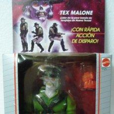 Figuras de acción: BRAVESTARR : TEX MALONE. AÑOS 80. DE MATTEL .NUEVO, PRECINTADO.. Lote 137712906
