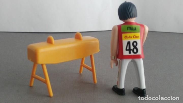 Figuras de acción: ANTIGUA FIGURA DE MINI AIRGAM BOYS OLIMPICO COLA CAO ITALIA POTRO - Foto 2 - 137982850