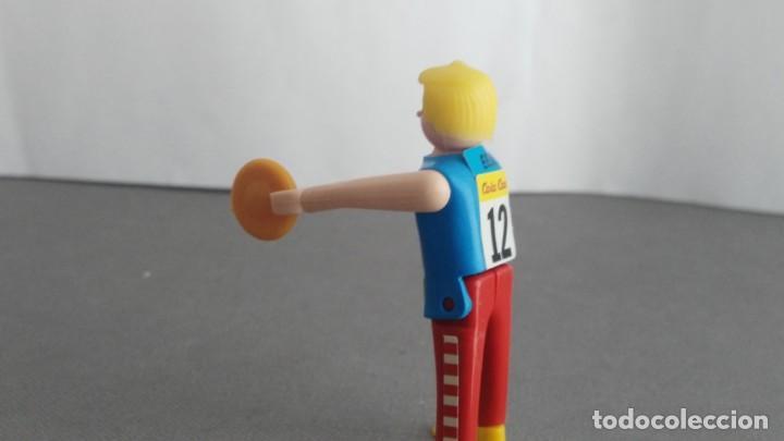 Figuras de acción: ANTIGUA FIGURA DE MINI AIRGAM BOYS OLIMPICO COLA CAO EEUU DISCO - Foto 2 - 137983146